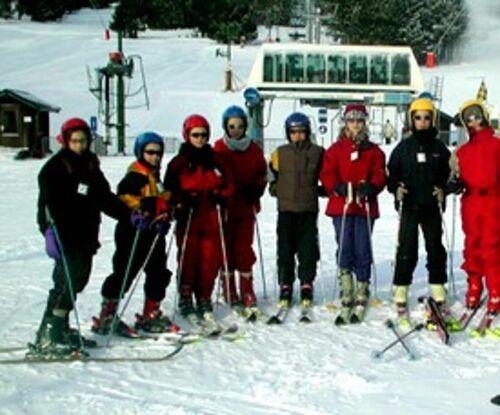 Classe de neige en 6ème à la Toussuire neige-loudeac-enfants