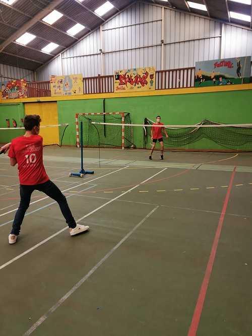 Association sportive : le badminton 0