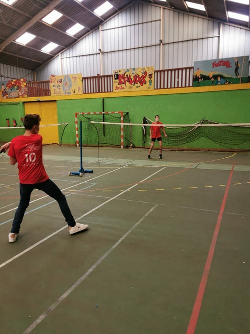 Association sportive : le badminton