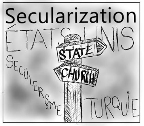 États et religions : une inégale sécularisation?