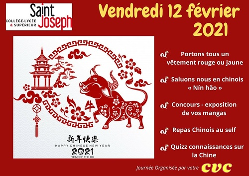 Nouvel An Chinois au Collège